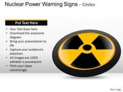Business Nuclear Power Warning Signs PowerPoint Slides And Ppt Diagram Templates