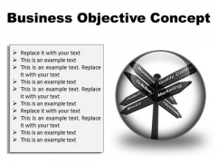 Business Objective Success PowerPoint Presentation Slides C