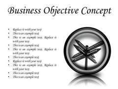 Business Objective Success PowerPoint Presentation Slides Cc