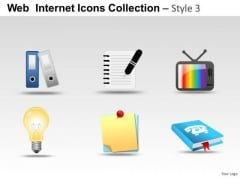 Business Office Web Internet Icons PowerPoint Slides And Ppt Diagram Templates