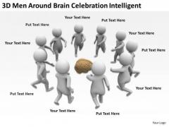 Business People Clip Art Celebration Intelligent PowerPoint Templates Ppt Backgrounds For Slides