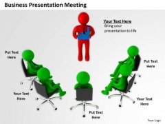 Business People Clip Art PowerPoint Presentations Meeting Slides