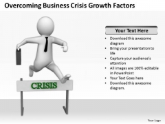 Business People Clipart PowerPoint Presentations Crisis Growth Factors Templates