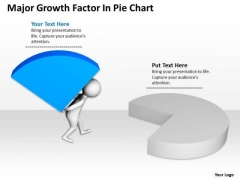Business People Pictures Growth Factor Pie Chart PowerPoint Templates Ppt Backgrounds For Slides