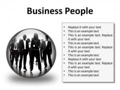 Business People Success PowerPoint Presentation Slides C