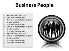 Business People Success PowerPoint Presentation Slides Cc