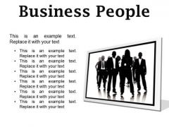Business People Success PowerPoint Presentation Slides F