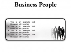Business People Success PowerPoint Presentation Slides R