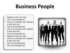 Business People Success PowerPoint Presentation Slides S