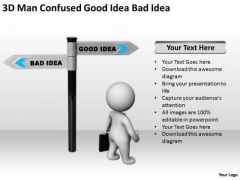 Business People Vector Confused Good Idea Bad PowerPoint Templates Ppt Backgrounds For Slides