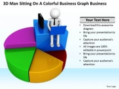 Business People Vector Templates Download Graph PowerPoint