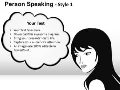 Business Person Speaking 1 PowerPoint Slides And Ppt Diagram Templates