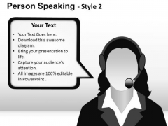 Business Person Speaking 2 PowerPoint Slides And Ppt Diagram Templates