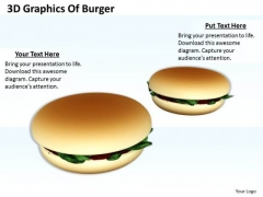 Business Plan And Strategy 3d Graphics Of Burger Success Images