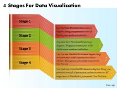 Business Plan And Strategy 4 Stages For Data Visualization Strategic Planning Template Ppt Slide