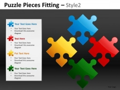 Business Plan Puzzle PowerPoint Templates And Plan Ppt Slides