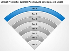 Business Planning And Development 8 Stages Ppt Template PowerPoint Slides