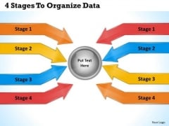 Business Planning Strategy 4 Stages To Organize Data Change Management Ppt Slide