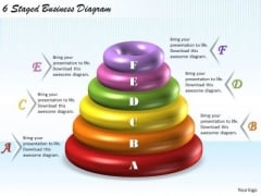 Business Planning Strategy 6 Staged Diagram Marketing