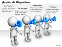 Business Policy And Strategy Graphic Of Megaphones Concepts