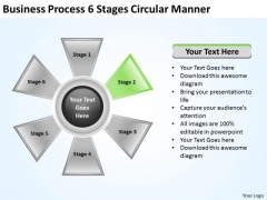 Business Policy And Strategy Process 6 Stages Circular Manner Development