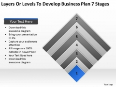 Business Power Point Plan 7 Stages Ppt PowerPoint Templates Backgrounds For Slides