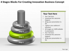 Business PowerPoint Examples For Creating Innovation Concept Templates