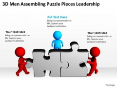 Business PowerPoint Examples Pieces Leadership Templates Ppt Backgrounds For Slides