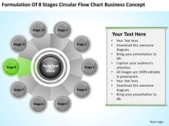 Business PowerPoint Examples Stages Circular Flow Chart Concept Ppt Templates