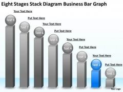 Business PowerPoint Presentation Bar Graph Strategic Planning Slides