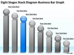 Business PowerPoint Presentations Bar Graph Plan Slides