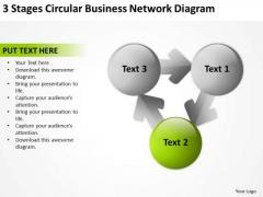 Business PowerPoint Presentations Network Diagram Doing Plan Slides