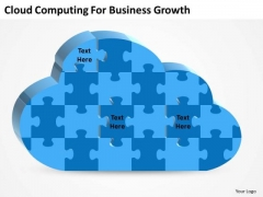 Business PowerPoint Template Cloud Computing For Growth Ppt Templates