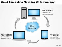 Business PowerPoint Template Cloud Computing New Era Of Technology Ppt Slides