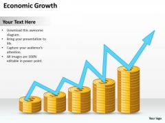 Business PowerPoint Template Economic Growth Ppt Templates