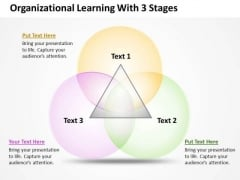 Business PowerPoint Template Organizational Learning With 3 Stages Ppt Templates