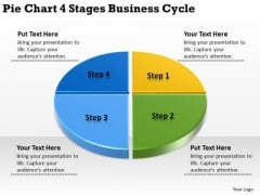Business PowerPoint Templates Cycle Construction Plan Slides