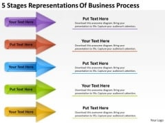 Business PowerPoint Templates Process 30 60 90 Plan