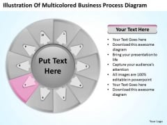Business PowerPoint Templates Process Diagram 10 Stages Planning Slides