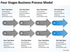 Business PowerPoint Templates Process Model How To Make Plan Slides