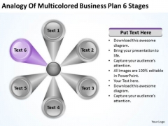 Business PowerPoint Theme Plan 6 Stages Ppt Planning Templates