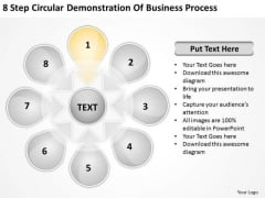 Business PowerPoint Theme Process Ppt 2 Basic Plan Outline Slides