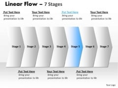 Business Ppt Parellel Illustration Of 7 Steps Project Management PowerPoint 6 Design