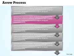 Business Ppt Template Arrow Forging Process PowerPoint Slides 5 Stage 3 Image