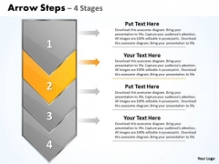 Business Ppt Theme Arrow 4 Power Point Stage 1 Strategy PowerPoint 3 Graphic