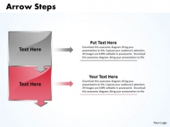 Business Ppt Theme Arrow Practice PowerPoint Macro Steps 2 Stages 3 Image