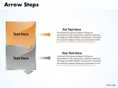 Business Ppt Theme Arrow Practice PowerPoint Macro Steps 2 Stages Image