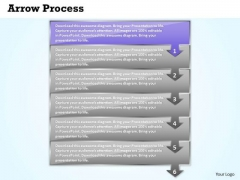 Business Ppt Theme Arrow Process 6 Phase Diagram Strategy PowerPoint 2 Graphic