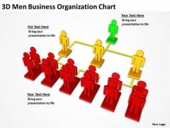 Business Process Flow Diagram Organization Chart PowerPoint Templates Ppt Backgrounds For Slides