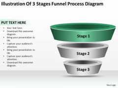 Business Process Flow Funnel Diagram Ppt PowerPoint Templates Backgrounds For Slide
